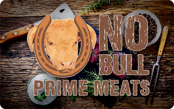 No Bull Prime Meat Gift Cards