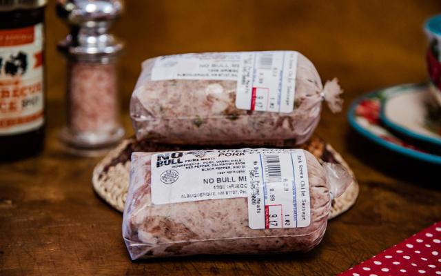 Green Chile Pork Sausage Bulk