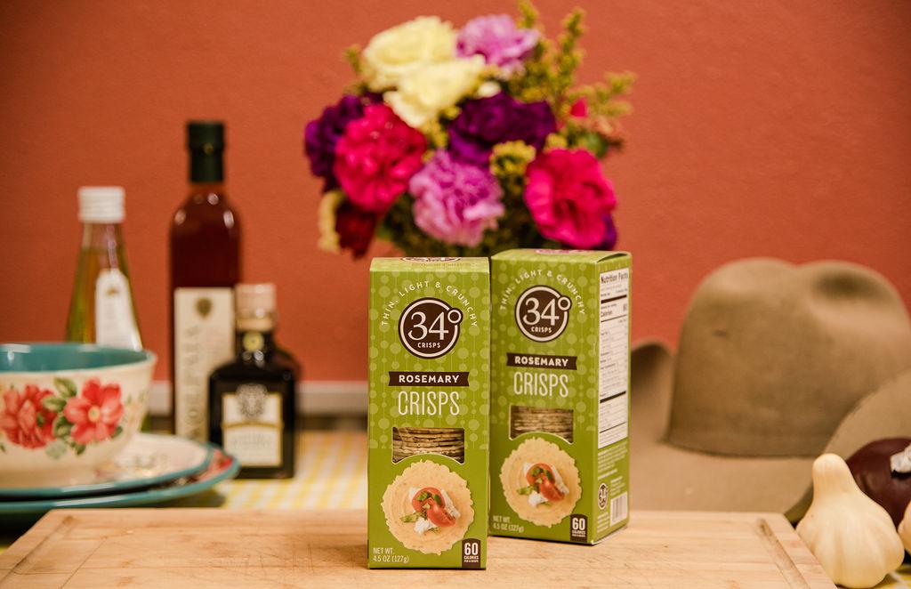 34 Crisps Rosemary Crackers