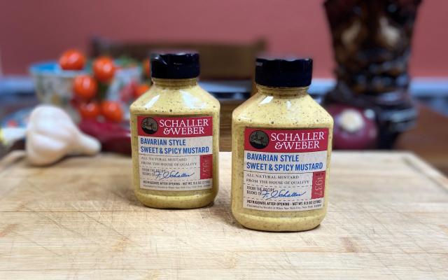 Bavarian Style Sweet & Spicy Mustard