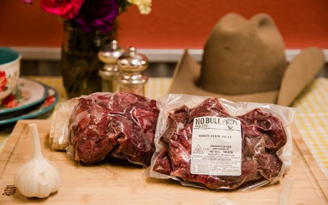 Buffalo Stew Meat
