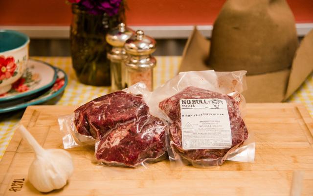 Buffalo Flat Iron Steak