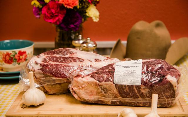 Buffalo Shoulder Roast