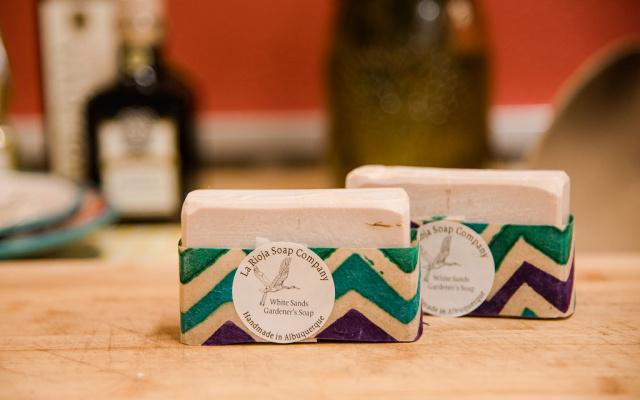 White Sands Gardeners Soap